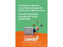 Lendo - lika enkelt som att jämföra priset på en kamera.