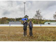 John Huntington och Per-Arne Sträng, Kanslibyrån
