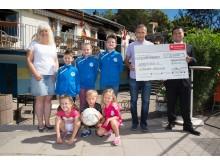 Spendenübergabe Vereinsheim Badenstedter SC