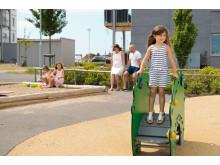 Trygga, mysiga kvarter med plats för lek- och grönytor