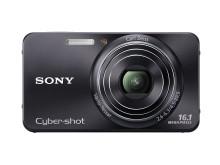 Cyber-shot DSC-W570 von Sony_Schwarz_01