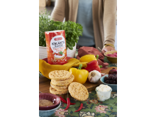 Friggs Kikertkaker Cream Cheese Sriracha