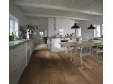 Allt om mitt trägolv - trägolv i kök, Noveau Brown från Kährs
