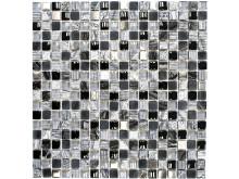 Mosaik Eventyr Tommelise Sort 30x30, 1.148 kr. M2.