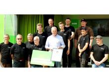 Långåkra maskinstation, Seglora, vann utmärkelsen Golden logger