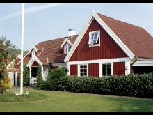 Cuprinol skyddar husfasader i hela Sverige.