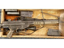 The deactivated air rifle