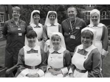 Senior nursing team