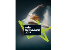 RuhrKultur.Card Werbemotiv Bühnen