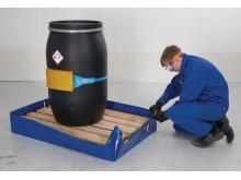 Flexibelt spillskydd från Denios