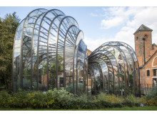 Bombay Sapphire distillery botanical gardens visitor centre