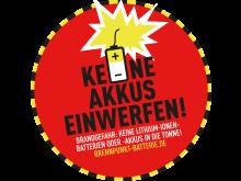 Aufkleber_Brennpunkt Batterie_Veolia