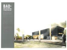 Förslag på Hyllies nya badanläggning visas på utställning - Capsula