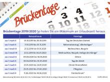 alltours Infografik Brückentage_