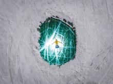 Emerald gem of the lake Baikai