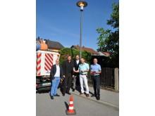 Startschuss für die neue Straßenbeleuchtung