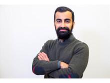 Amir Omed, produktägare företagslån Lendo_halvbild