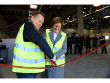Lindab åbner ny fabrik i Hvidovre