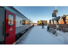 Nattåg Kiruna