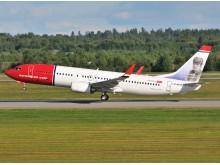 Norwegian-flyet LN-NOW