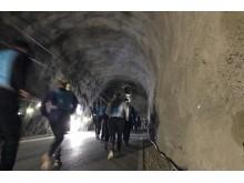 Stockholm Tunnel Run Citybanan 2017 - Löpare i Tunneln