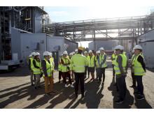 Riksdagens miljö- och jordbruksutskott besöker SunPine