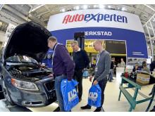 KG Knutsson fokuserar på sitt kedjekoncept, AutoExperten, under Automässan.
