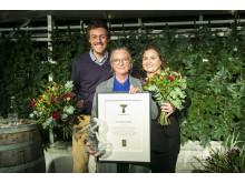 2018 års vinnare av Utstickarpriset, Tina-Marie Qwiberg