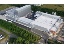 Aerial shot of £50m Telford expansion