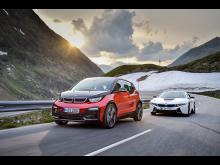 BMW i3s og BMW i8
