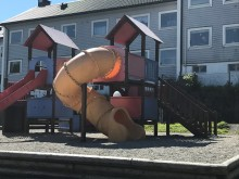 Damsgård barnehage AS har et flott uteområde.