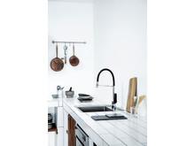 Slate Pro kitchen mixer Damixa