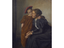 Viggo Johansen - Nanna og hendes moder, 1897. Randers Kunstmuseum