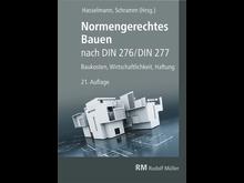 Normengerechtes Bauen nach DIN 276/DIN 277, 21. Auflage (2D/tif)
