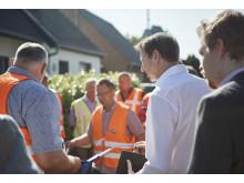 Mönchengladbach Baustellenbesichtigung