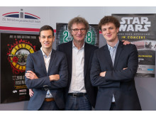 Die neue ZSL-Geschäftsführung: Philipp Franke, Prof. Dr. Michael Kölmel und Matthias Kölmel
