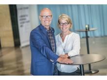 Reinhold Lennebo och Monica von Schmalensee på SGBC:s stämma 11 maj 2016