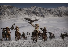 Eagle Hunters of Western China, fot. Kevin Frayer