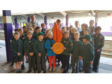 1st Bournville Scouts plaque unveiling Cross City Heroes