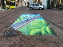 3D-Streetart Arnhem