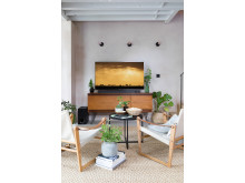 Living Room style with Sony ZF9 Soundbar 6c