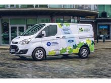 Hybridní elektrická dodávka_Transport for London