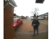 CCTV image of a man officers would like to speak to in relation to a fraud in Stoke Poges