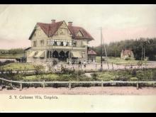 S.V. Carlssons handelsbod, tidigt 1900-tal.