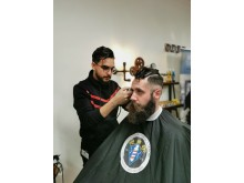 Abbe Al-Jadir, Royal Barbershop