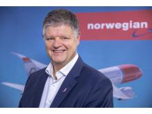 Jacob Schram, consejero delegado de Norwegian