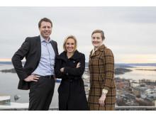 Solveig Skumlien Nilsen (38), Tor-Øyvind Eriksen (38) og Kristine Synnøve Brorson (37) er alle nominert til Årets unge leder av Assessit.