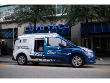 Selvkørende Ford Transit Connect