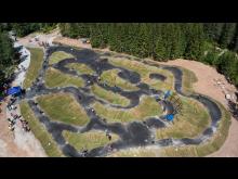 Norges største pumptrack er åpen