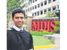 Tenacity earns him an MBA.